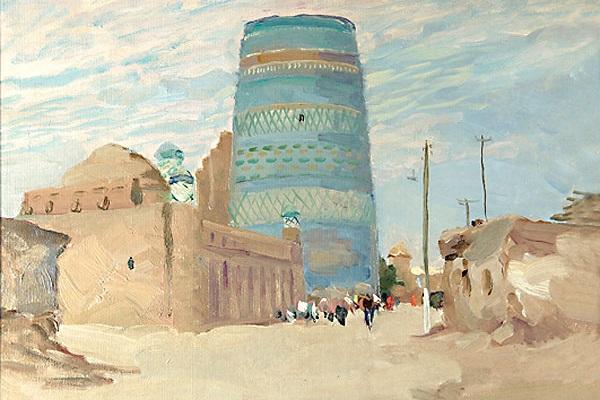 Выставка картин Николая Христолюбова