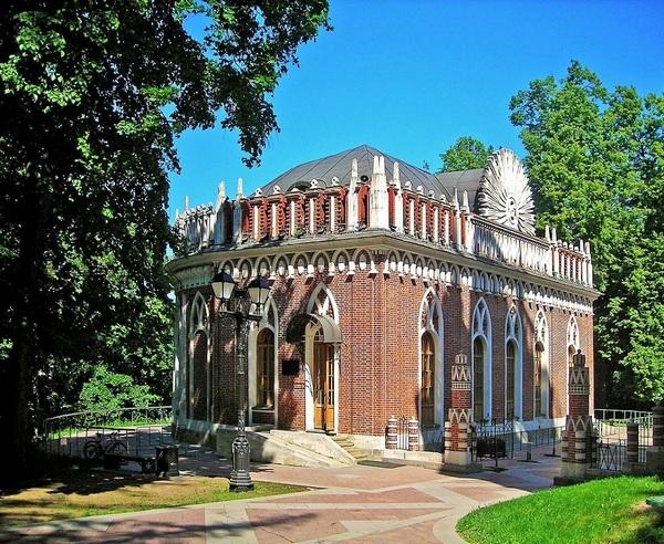 Малый дворец в Царицыно