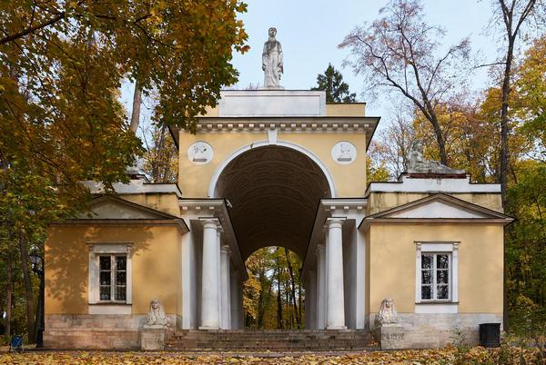 павильон Миловида в парке Царицыно