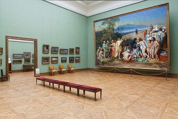 Виртуальные показы картин в Третьяковской галерее