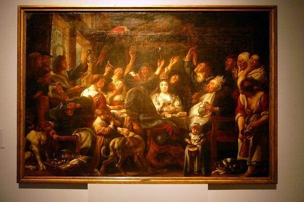 Онлайн-выставка «Якоб Йорданс. Картины и рисунки из собраний России»