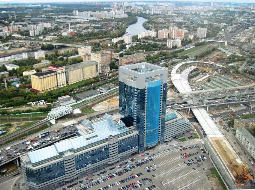 Башня «Северная» в Москва-Сити