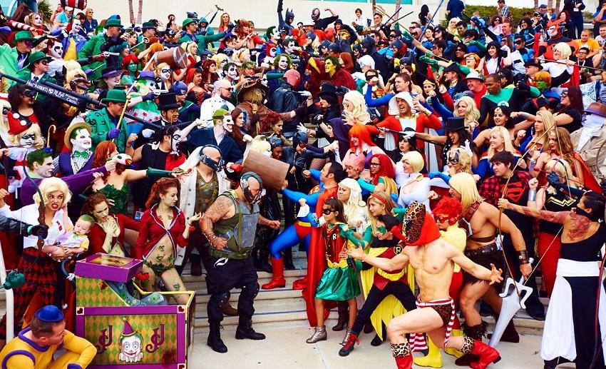 Онлайн-фестиваль Comic Con от Warner Bros.