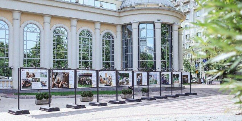 На трех бульварах Москвы пройдут фотовыставки многодетных семей