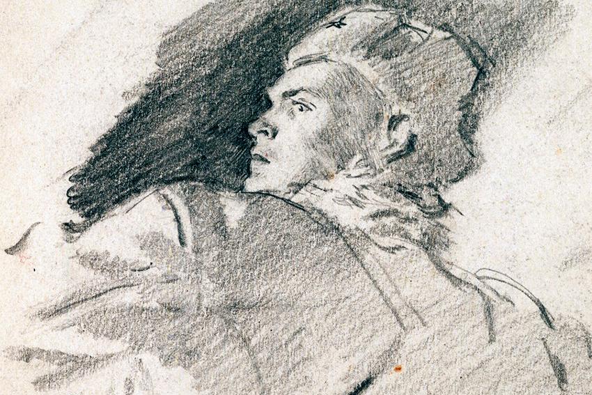 Выставка «Искусство, опаленное войной. Акварель и графика из собрания А. Г. Егорова»