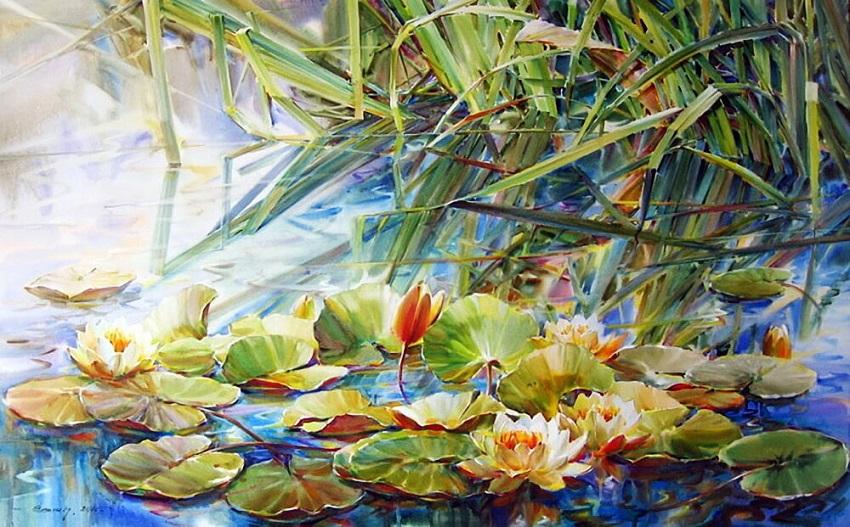 Выставка Олега Тимошина «В зеркалах»