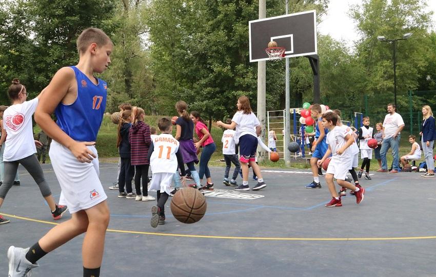 спортивные зоны в парке