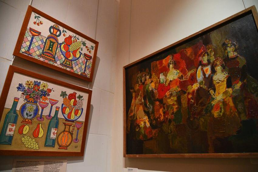 Выставка «Избранное за полвека. Живопись, графика, скульптура Кавказа и Средней Азии»