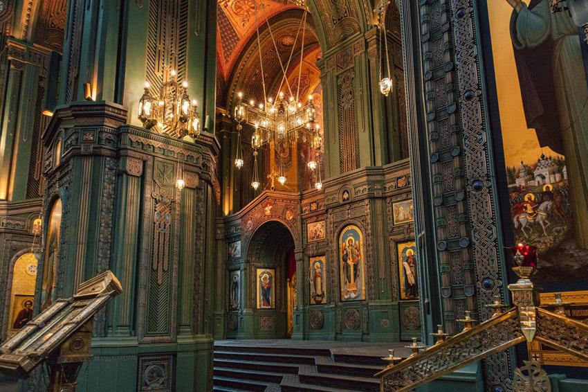 Экскурсия в Храм Вооруженных Сил России