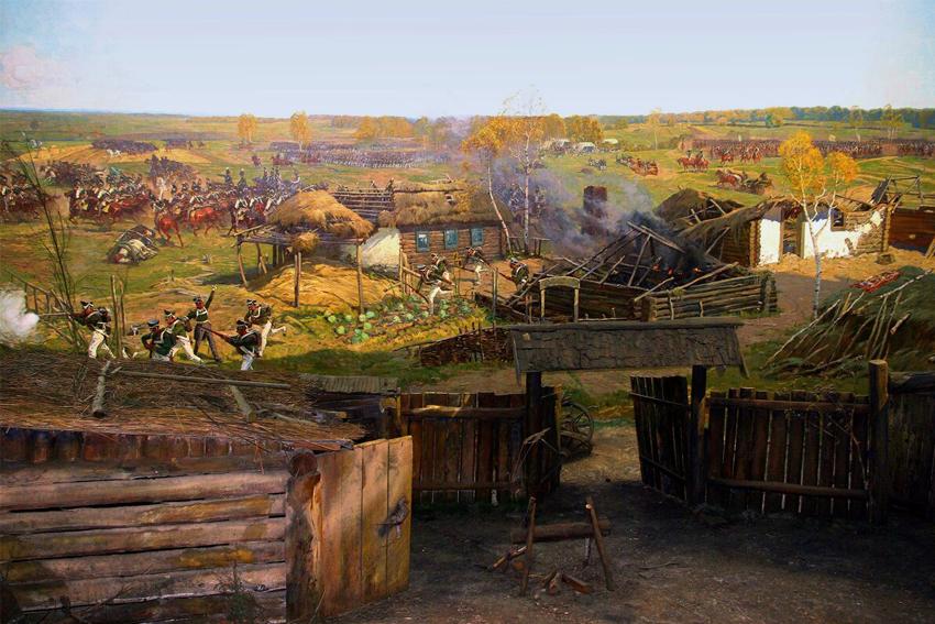 Виртуальное посещение музея-панорамы «Бородинская битва»