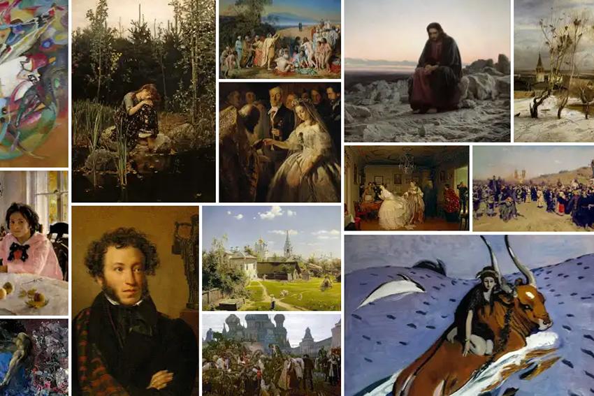 Виртуальные экскурсии, выставки и обучающие программы в Третьяковской галерее