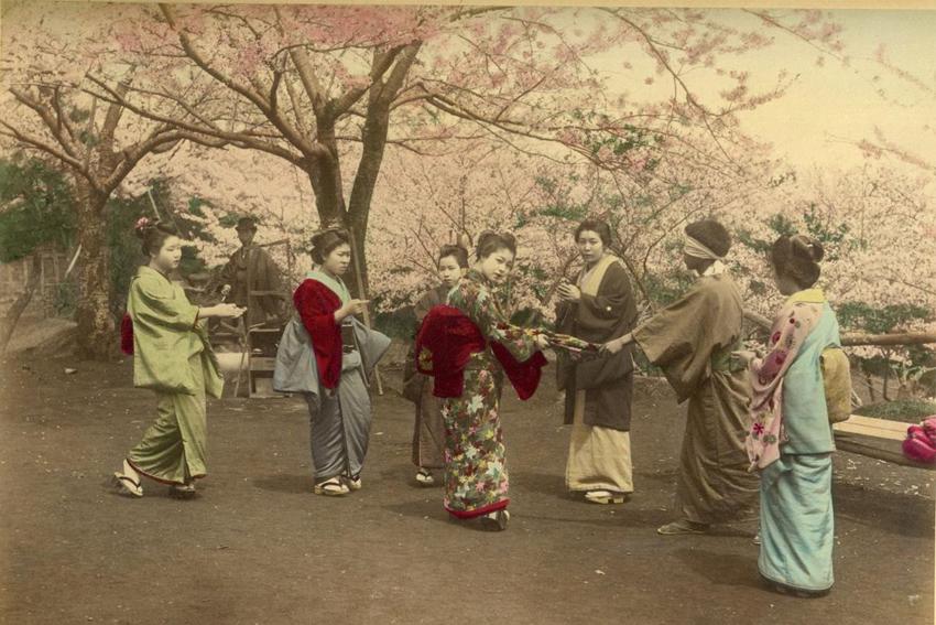 Онлайн-выставка «Старинная японская фотография»