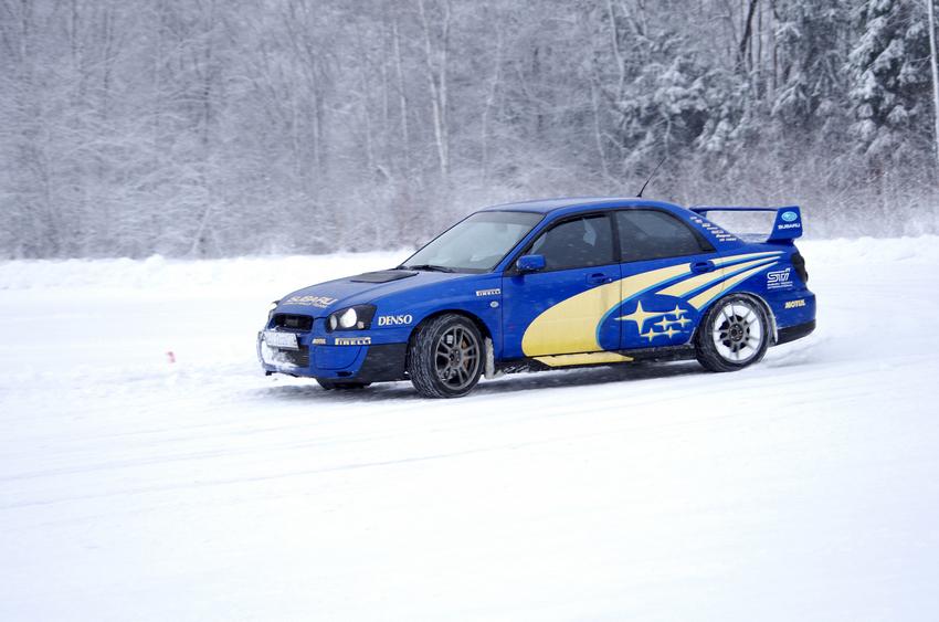 Лыжная гонка и трек-день на Moscow Raceway. Катаемся весь день!