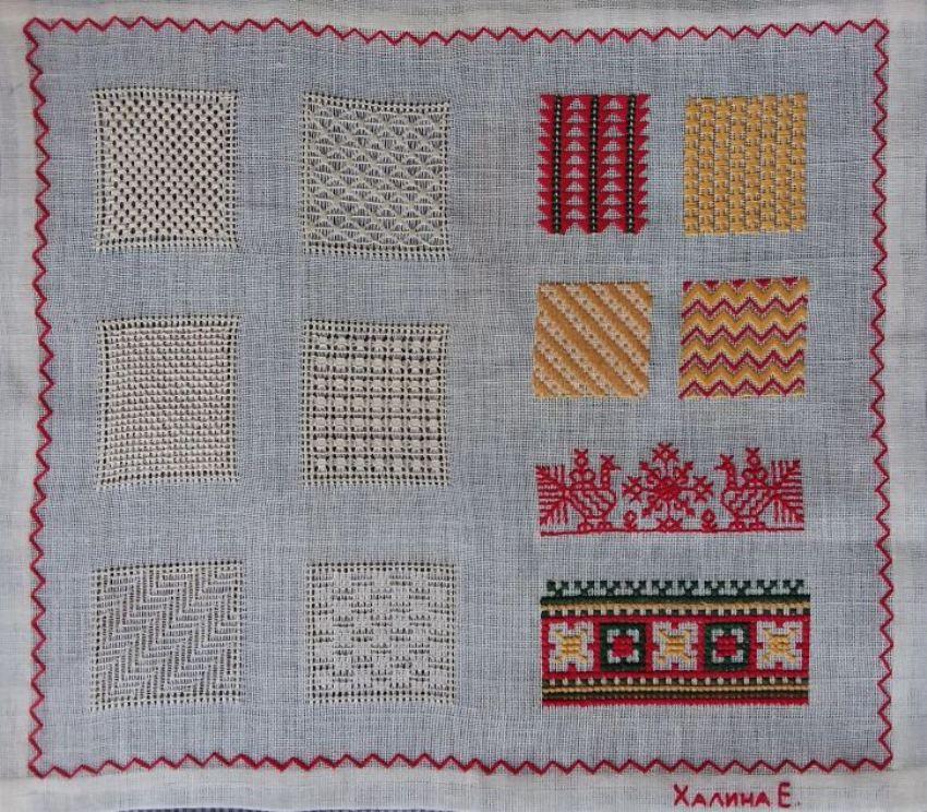 Обучение вышивке в музейной мастерской «Художественная вышивка»