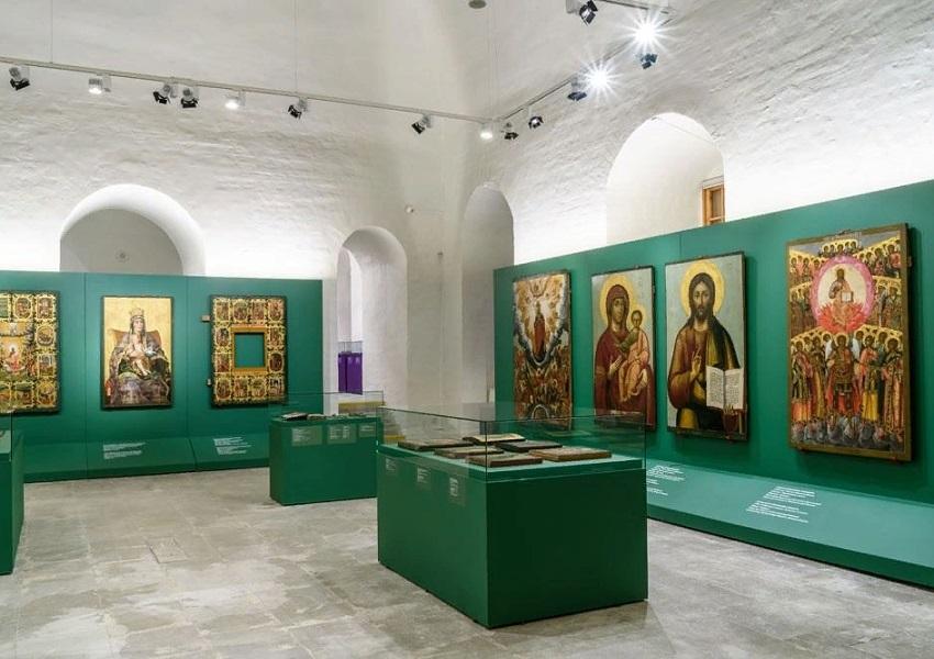 Постоянная экспозиция музея им. А. Рублёва «Русское религиозное искусство XVIII века»