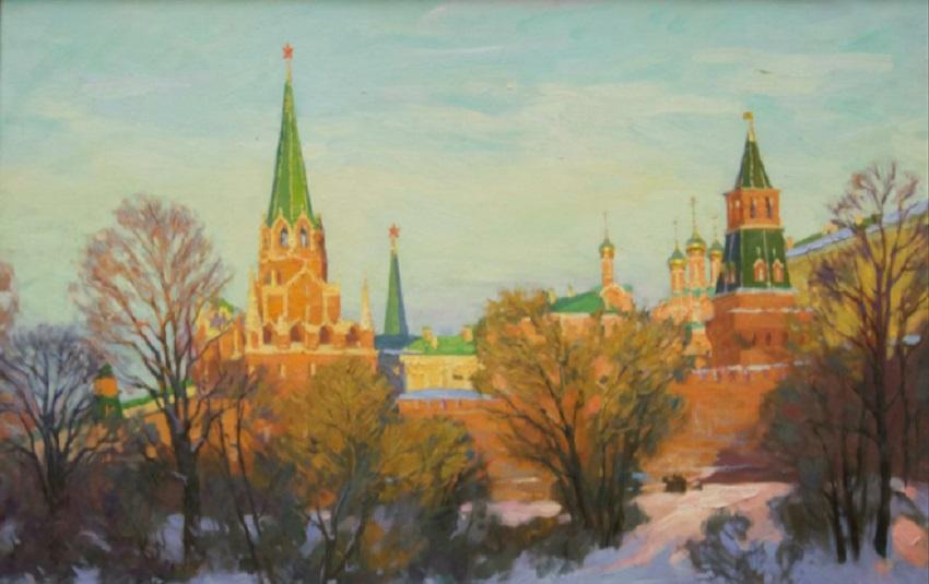 Выставка пейзажей городов России в Академии акварели С. Андрияки
