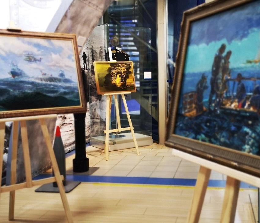 Выставка картин «Флот в произведениях искусства»