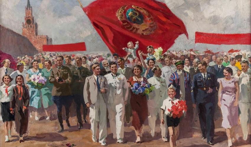 Выставка к 100-летию образования СССР «Страна мечтателей – страна героев»