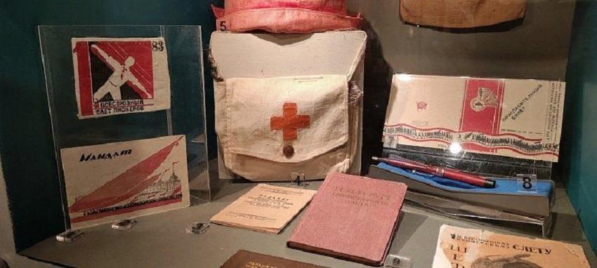 Выставка «Вехи истории детского движения»