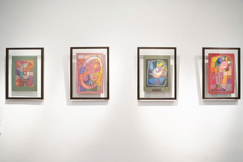 Выставка работ Наталии Риво «Буквеница»