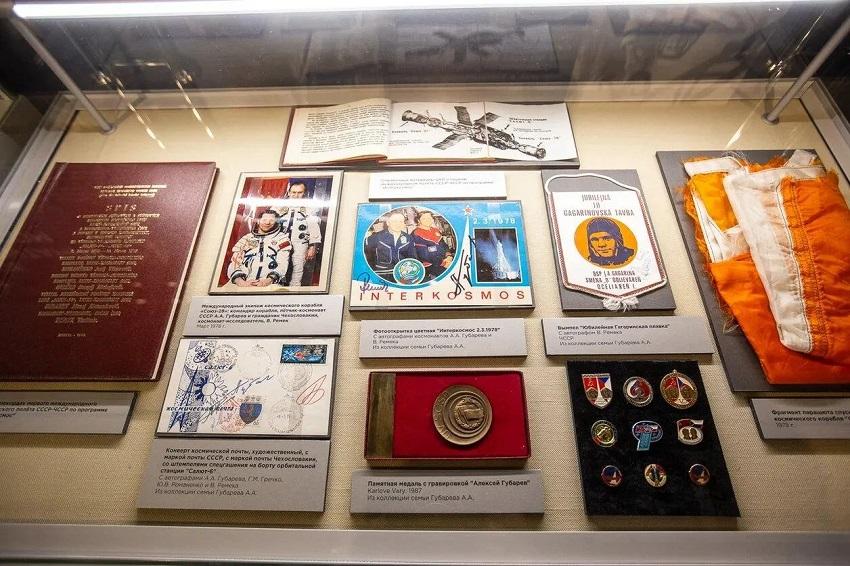 Выставка «Орбита жизни Алексея Губарева»