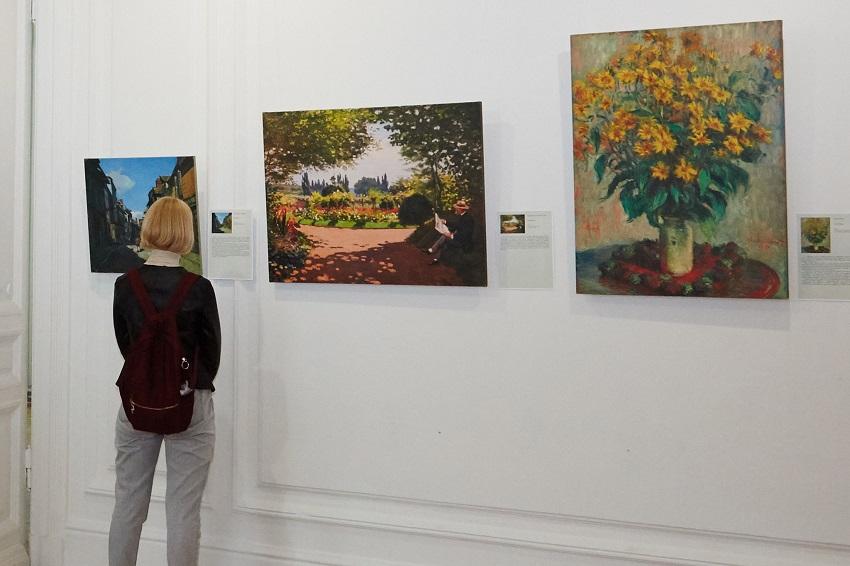 Выставка репродукций «Клод Моне. Магия воды и света»