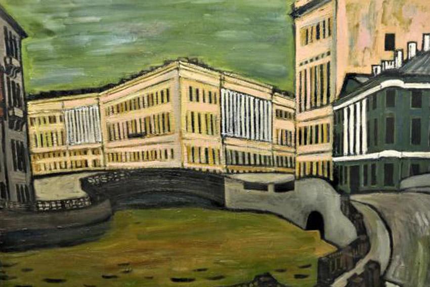 Выставка Бориса Мессерера «Петербург. Роман с городом»