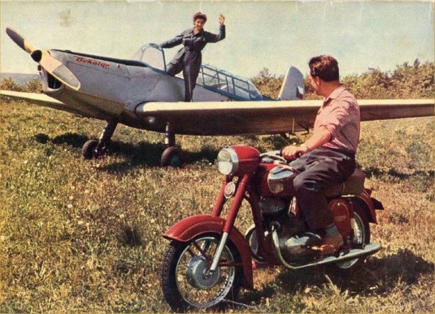 Выставка «Мотоциклы Ява – 75 лет мирной истории»