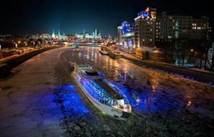 Гастрономический рыбный круиз по Москве-реке класса люкс