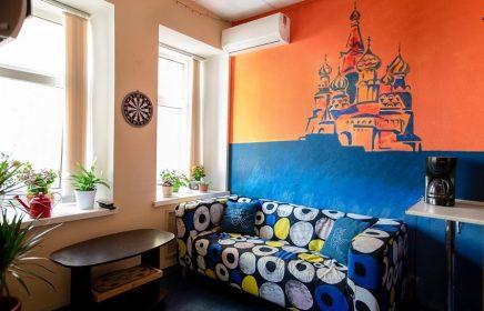 20 лучших хостелов в центре Москвы: самые уютные, оригинальные и недорогие