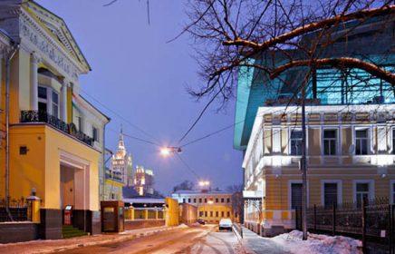 Арбатские любовные треугольники. Причудливые переплетения московских улиц и судеб