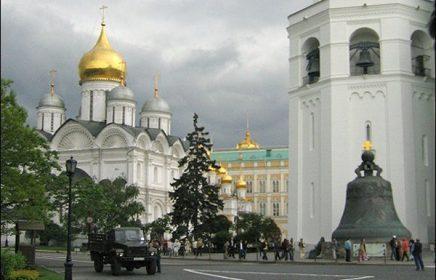 Обзорная автобусная экскурсия по Москве (2 часа)