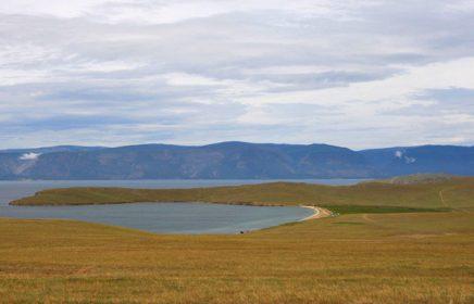 Поездка на озеро Хонхой острова Ольхон (деревня Ялга)