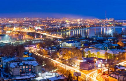 По пути к Байкалу — остановка Иркутск