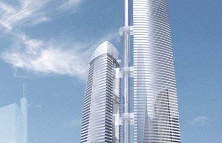 Башня «Федерация» в Москва-сити — высочайший небоскреб Европы