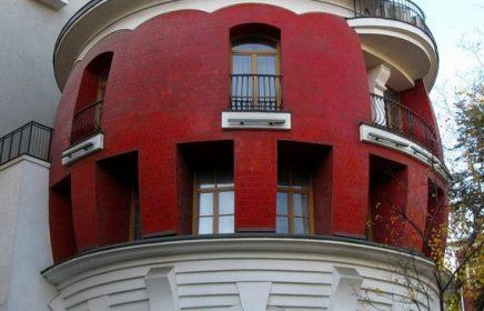 Дом-яйцо на ул. Машкова