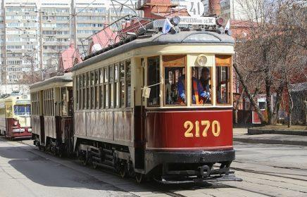 Ежегодный парад трамваев 2019