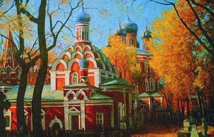 Донской монастырь — Сен-Жерменское предместье старой Москвы