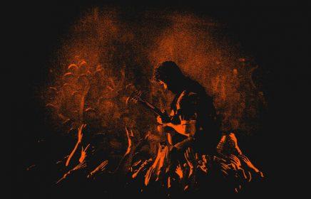 Британский инди-рок квартет Foals в Adrenaline Stadium