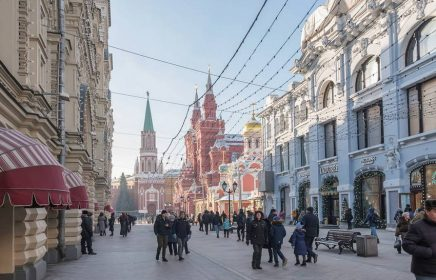 Фотоэкскурсия по центру Москвы