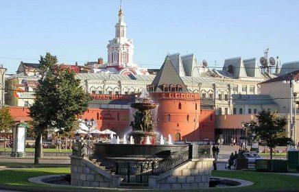 Район Москвы Китай-город