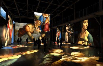 Мультимедийная выставка «Леонардо да Винчи. Тайна гения»