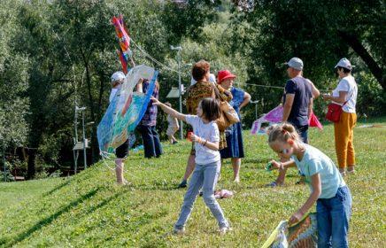 Фестиваль авторских воздушных змеев «ЛеТатлин №4»