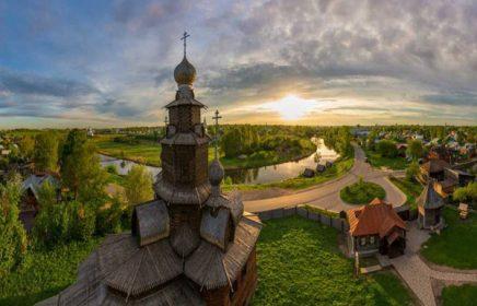 Экскурсия в Суздальский кремль в составе обзорной экскурсии