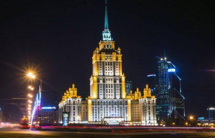 Экскурсия по вечерней Москве на автобусе