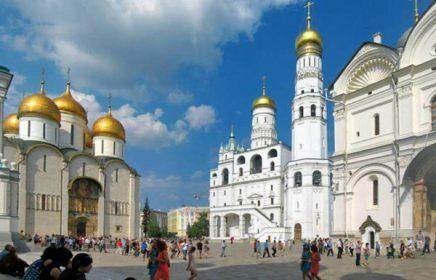 Экскурсия по Московсому Кремлю