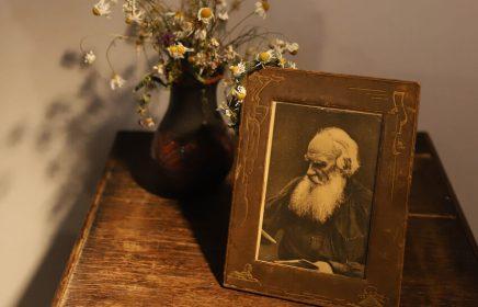 Экспозиция музея Л.Н. Толстого на Пречистенке
