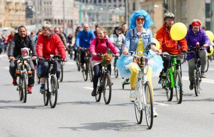 Московский велофестиваль онлайн: «Добрый велозаезд» и марафон с заданиями