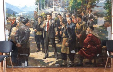 Экспозиция музея-мастерской Дмитрия Налбандяна