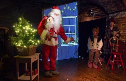 Новогодний спектакль «Финдус и механический Дед Мороз»